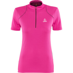 Löffler Pura Bike Jersey Half-Zip Women berry